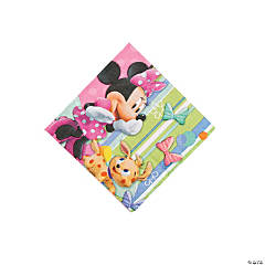 Minnie Bowtique Beverage Napkins