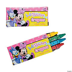 Minnie Bowtique Crayons