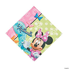 Minnie Bowtique Luncheon Napkins