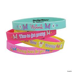 Minnie Bowtique Rubber Bracelets