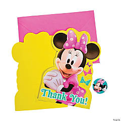 Minnie Bowtique Thank You Cards