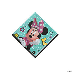 Minnie Happy Helpers Beverage Napkins