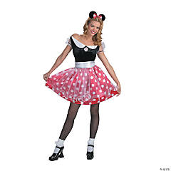 Minnie Mouse Adult Women's Costume
