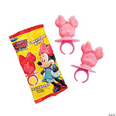 Minnie Mouse & Friends Lollipop Rings