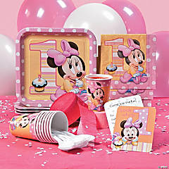 Minnie 1st Birthday Party Supplies