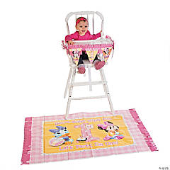 Minnie's 1st Birthday High Chair Decorating Kit
