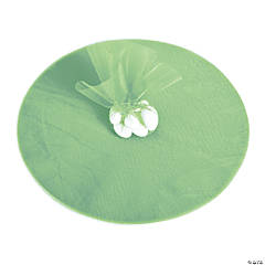 Mint Green Tulle Circles