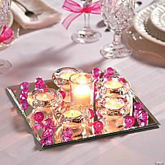 Mirror Wedding Centerpiece Idea