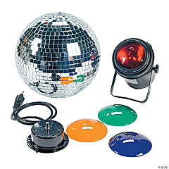 Mirrored Ball Party Light Set
