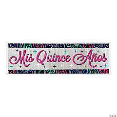 Mis Quince Años Giant Plastic Banner