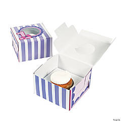 Miss Sock Monkey Cupcake Boxes