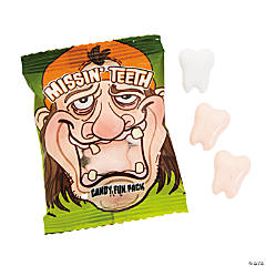 Missing Teeth Hard Candy Fun Packs