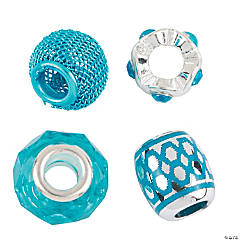 Mix & Match Turquoise Large Hole Beads