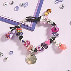 Mixed Media Cord Bracelet Idea