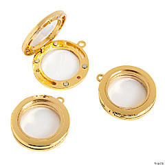 30mm Goldtone Lockets