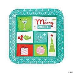 Mod & Merry Paper Dinner Plates
