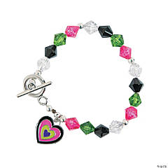 Mod Enamel Heart Bracelet Craft Kit