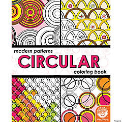 Modern Patterns Circular Coloring Book