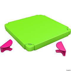 Modular Toy Storage Box Top: Pink/Lime
