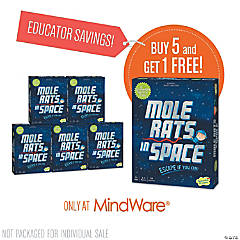 Mole Rats in Space: Classroom Set of 6