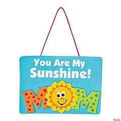 Mom Sunshine Sign Craft Kit
