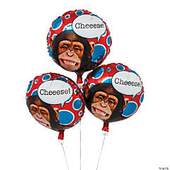 Monkey Mylar Balloon