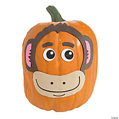 Monkey Pumpkin Decorating Craft Kit