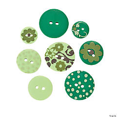 Monochromatic Green Buttons