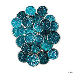 Monochromatic Jewel Brads - Blue