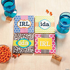 Monogram Coasters Idea