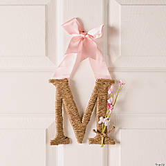 Monogram Door Décor Idea