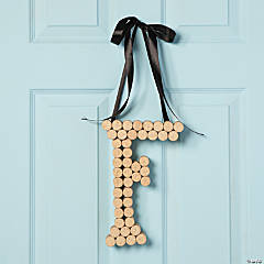 Monogram Door Hanger Idea