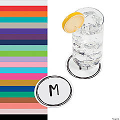 Monogrammed Simple Design Coasters