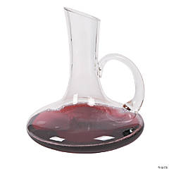Monogrammed Wine Decanter with Handle