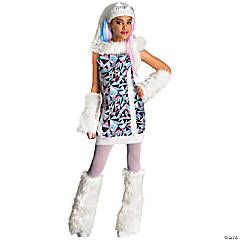 Monster High Abbey Bominable Costume For Girls