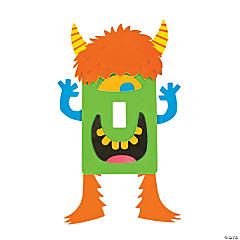 Monster Light Switch Cover Craft Kit