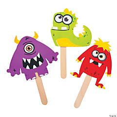 Monster Puppets Craft Kit