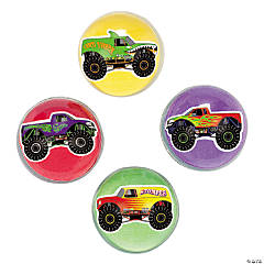 Monster Trucks Bouncy Ball Assortment