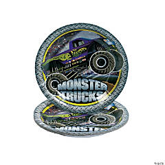 Monster Trucks Dessert Plates