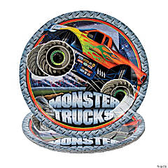 Monster Trucks Dinner Plates