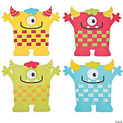 Monster Weaving Mat Craft Kit