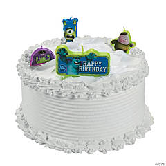 Monsters University Birthday Candles