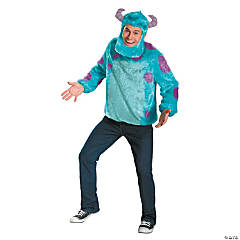 Monsters University Sulley Deluxe Costume For Men
