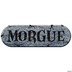 Morgue Foam Plaque Halloween Décor