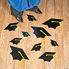 Mortarboard Floor Clings