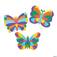 Mosaic Butterfly Sand Art Pictures