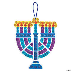 Mosaic Menorah Craft Kit