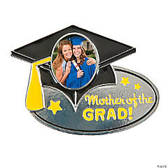 Mother of the Grad Photo Frame Pin