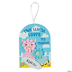 Mother's Day Llama Sign Craft Kit