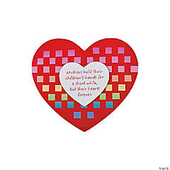 Mother's Day Heart Weaving Mat Craft Kit